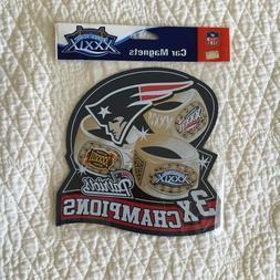 NEW Vintage New England Patriots Super Bowl XXXIX 3X Champio