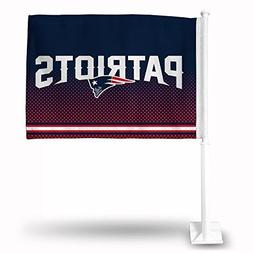NFL New England Patriots Car Flag
