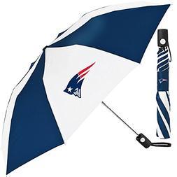 NFL New England Patriots Auto Folding Umbrella