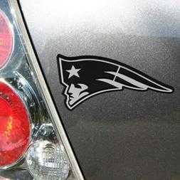 NFL New England Patriots Chrome Automobile Emblem
