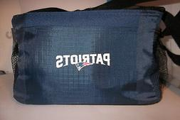 NFL New England Patriots Team Logo 6 Can Cooler Bag or Lunch
