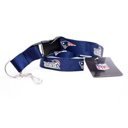 NFL NEW ENGLAND PATRIOTS TWO TONE LANYARD