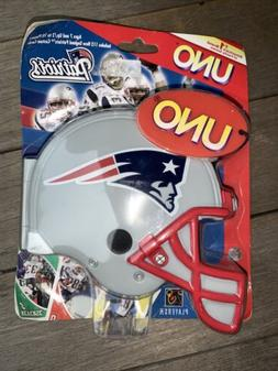 nfl football new england patriots collectible uno