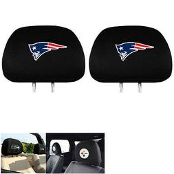 NFL New England Patriots Head Rest Covers