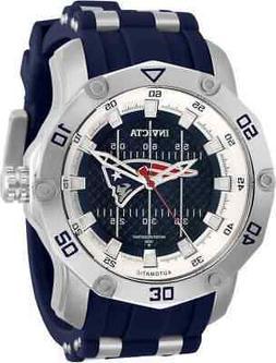 Invicta NFL New England Patriots Automatic Blue Dial Men's W