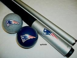 NFL New England PATRIOTS Billiard Pool Cue Stick & Team Logo