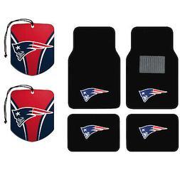 NFL New England Patriots Car Truck Carpet Floor Mats & Hangi