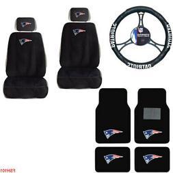 NFL New England Patriots Car Truck Seat Covers Floor Mats &