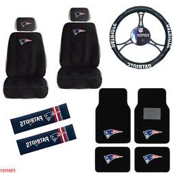 NFL New England Patriots Car Truck Seat Covers Floor Mats St