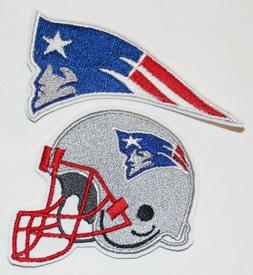nfl new england patriots embroidered iron on
