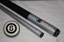 NFL New England Patriots Football Billiard Pool Cue Stick &