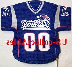 NFL New England Patriots Football Jersey Money Pouch Sports