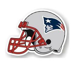 NFL New England Patriots Helmet 12 Inch Indoor Outdoor Car R