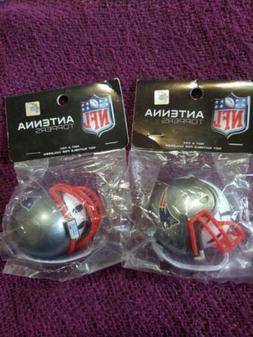 NFL New England Patriots Helmet Head Antenna Toppers = Deskt