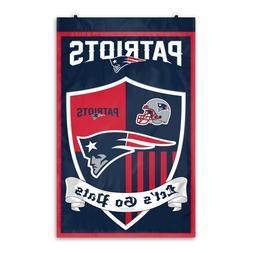 nfl new england patriots shield banner 36