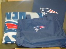NFL New England Patriots Stadium Tote Bag, Cushion & Blanket