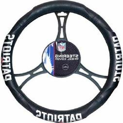 NFL New England Patriots Synthetic Leather Premium Steering