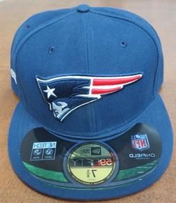 NFL NewEra 59Fifty New England Patriots Official On Field Ha