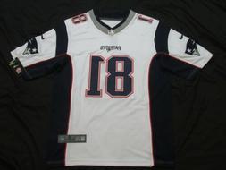 NWT Aaron Hernandez #81 New England Patriots Game All Sewn J