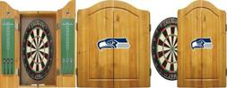 officially licensed nfl merchandise dart cabinet set