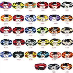 outdoor nfl lanyard colors football paracord bracelet