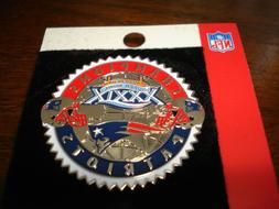 Super Bowl 39 Champions New England Patriots Pin
