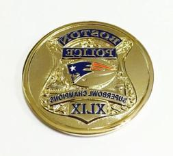 SUPER BOWL XLIX 49 CHAMPS NEW ENGLAND PATRIOTS BOSTON POLICE