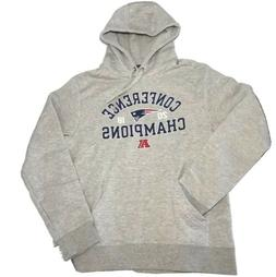 Sweater Hoodie Med New England Patriots AFC 2018 Champions F