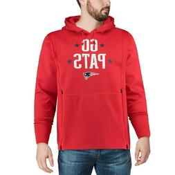 Nike Therma New England Patriots L Red Sideline Local Lockup
