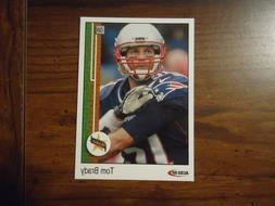 Tom Brady 1989 Upper Deck Style Rookie Card New England Patr