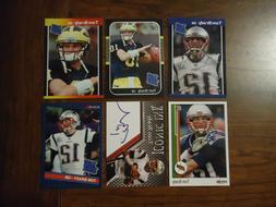 Tom Brady New England Patriots 6 Card Lot Rookies Facs Auto