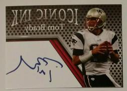 Tom Brady New England Patriots NEW MVP Facsimile Iconic Ink