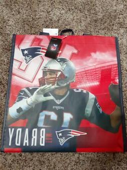 TOM BRADY New England Patriots NFL Printed Reusable Grocery