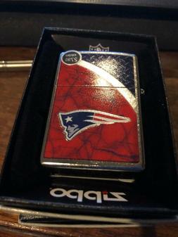 Zippo NFL NEW ENGLAND PATRIOTS  TEAM NFL Logo  Lighter